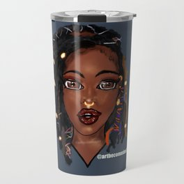 Loc'd Goddess Travel Mug