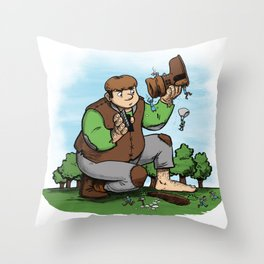 There's my Boot Throw Pillow