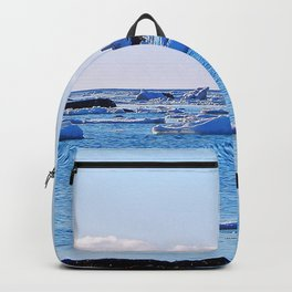 Snow Topped Boulders Backpack