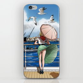 Penny Rogers - Hot wind iPhone Skin
