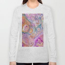 Seashell Mother of Pearl Long Sleeve T-shirt