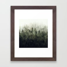 The Heart Of My Heart // Green Mountain Edit Framed Art Print