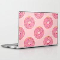 doughnut Laptop & iPad Skins featuring Doughnut by Inbeeswax