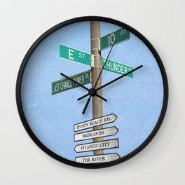 Springstreets Wall Clock