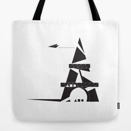 ABSTRACT_05_EIFFEL TOWER Tote Bag