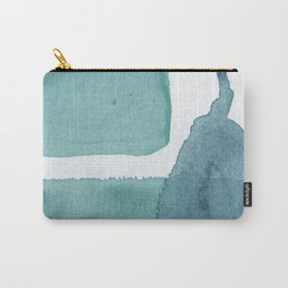 Blue Vibrance Abstract Painting Carry-All Pouch