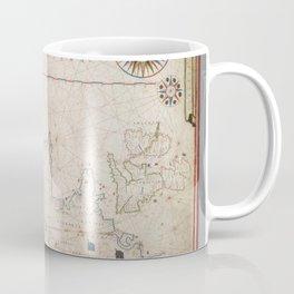 Europe And Northen Africa 1619 Coffee Mug