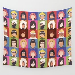 Anime Characters Wall Tapestry