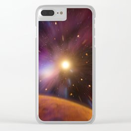 Time Travel Clear iPhone Case