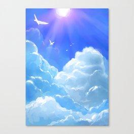 Coroazul Canvas Print