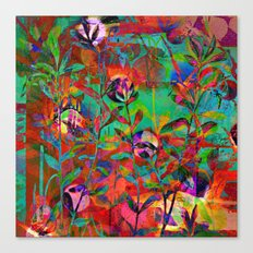 floral and light Canvas Print