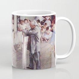 The Ballet Class- Edgar Degas Coffee Mug