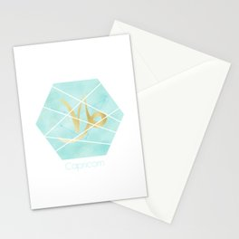 Capricorn - Zodiac sign Stationery Cards