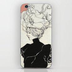 Vintage lady iPhone & iPod Skin