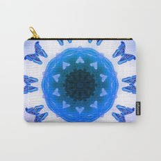 All things with wings (blue) Carry-All Pouch