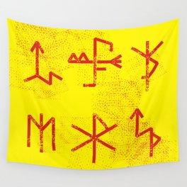 Runes Wall Tapestry