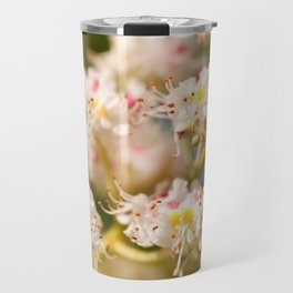 Aesculus chestnut tree blossoms Travel Mug