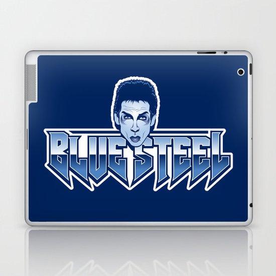 Blue Steel Laptop & iPad Skin