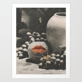 Darker (for Leonard) Art Print