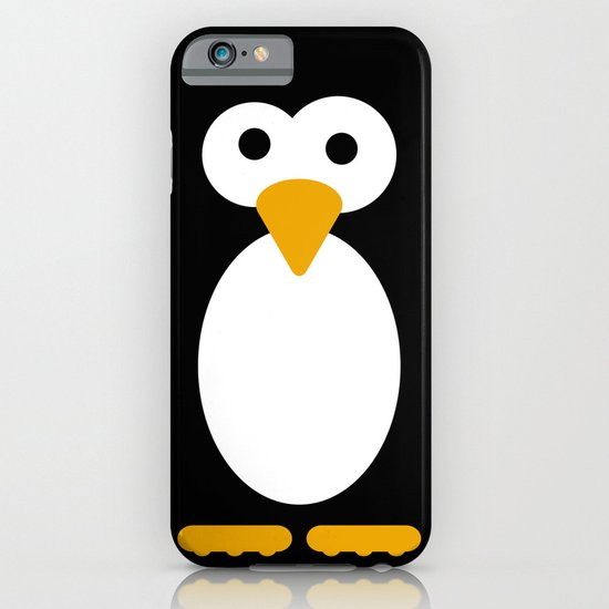 Minimal Penguin iPhone & iPod Case