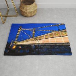 Albert Bridge River Thames London Rug