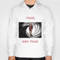 amy pond Hoodies featuring Pond, Amy Pond by DarkCrow