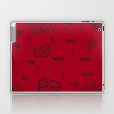 Rouge et Noir Laptop & iPad Skin
