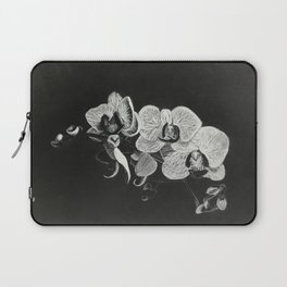 White Orchids II Laptop Sleeve