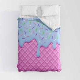 Psychedelic Ice Cream Comforters