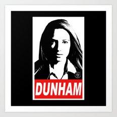 Obey Dunham Art Print