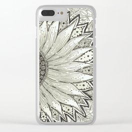 Leyla's Flower Clear iPhone Case