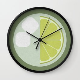 Time for a Drink (clock18) Wall Clock