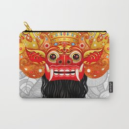 Barong, Balinese mask, Bali mask Carry-All Pouch