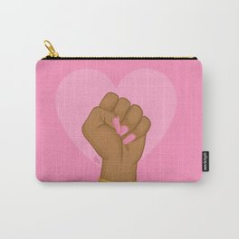 Black Lives Matter Power Fist Carry-All Pouch