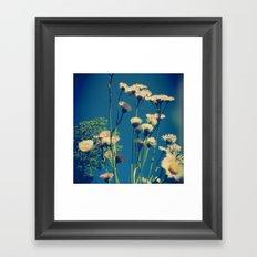 Coming Up Daisies Framed Art Print
