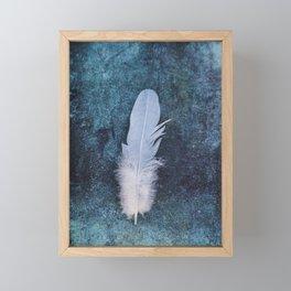 Feather II Framed Mini Art Print