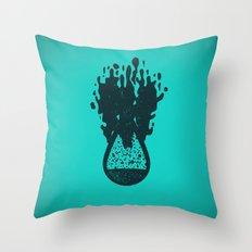 H(2O) - Bomb Throw Pillow