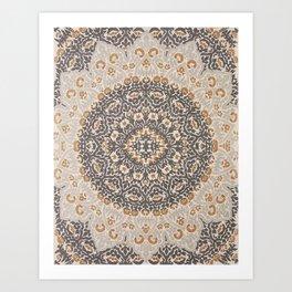 Bohemian Oriental Moroccan Mandala Style  Art Print