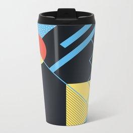 RETROMETRIA BLACK Metal Travel Mug