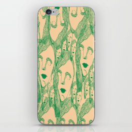 nice lady iPhone Skin
