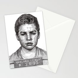 Little Jimmy Finkle Leader of the Gumball Gang Stationery Cards