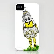 The BumbleBee Girl  iPhone (4, 4s) Slim Case