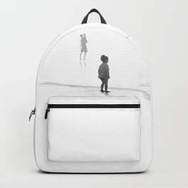 Children Looking at the Sea Backpack