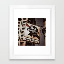 Pabst Framed Art Print