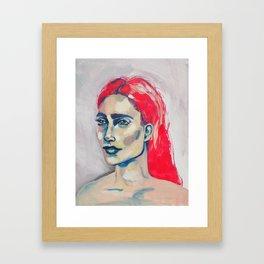Sage Framed Art Print