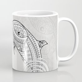 Beautiful dolphin, mandala design Coffee Mug