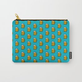 Beer Pattern - Icon Prints: Drinks Series Carry-All Pouch