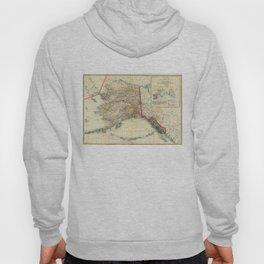 Vintage Map of Alaska (1906) Hoody
