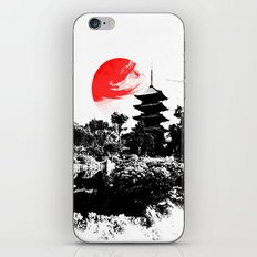 Abstract Kyoto - Japan iPhone & iPod Skin