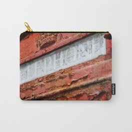 Old Red Carry-All Pouch